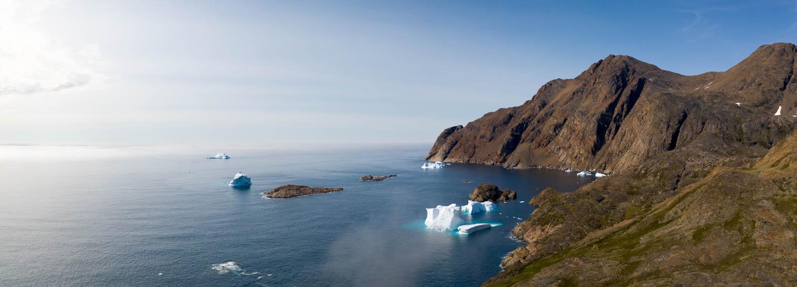 Ostgrönland, Grönland, Tasiilaq, Drohne, Mavic 2 Pro, Panorama