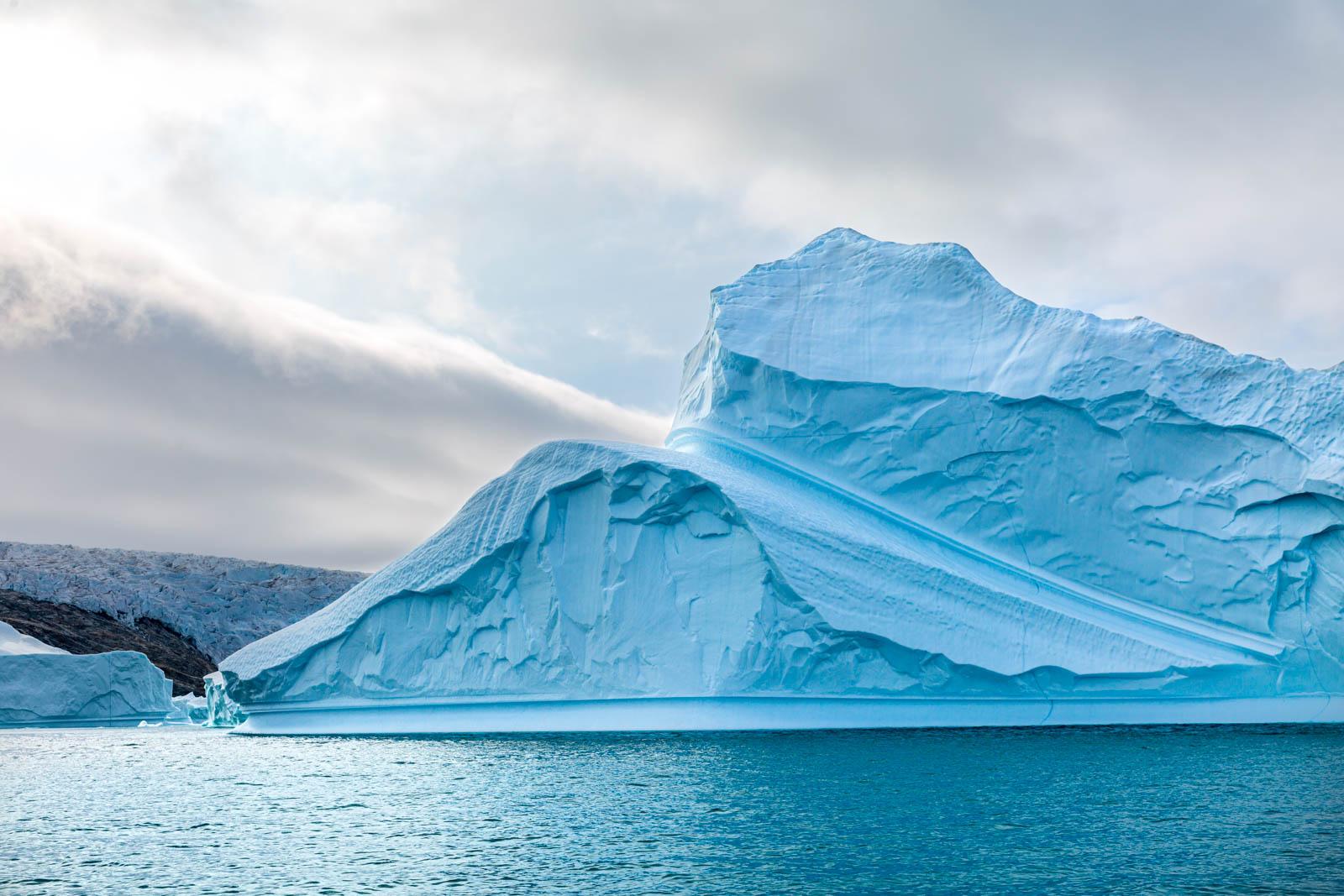 Grönland, Ostgrönland, Eisberg, Icecap, Inlandseis