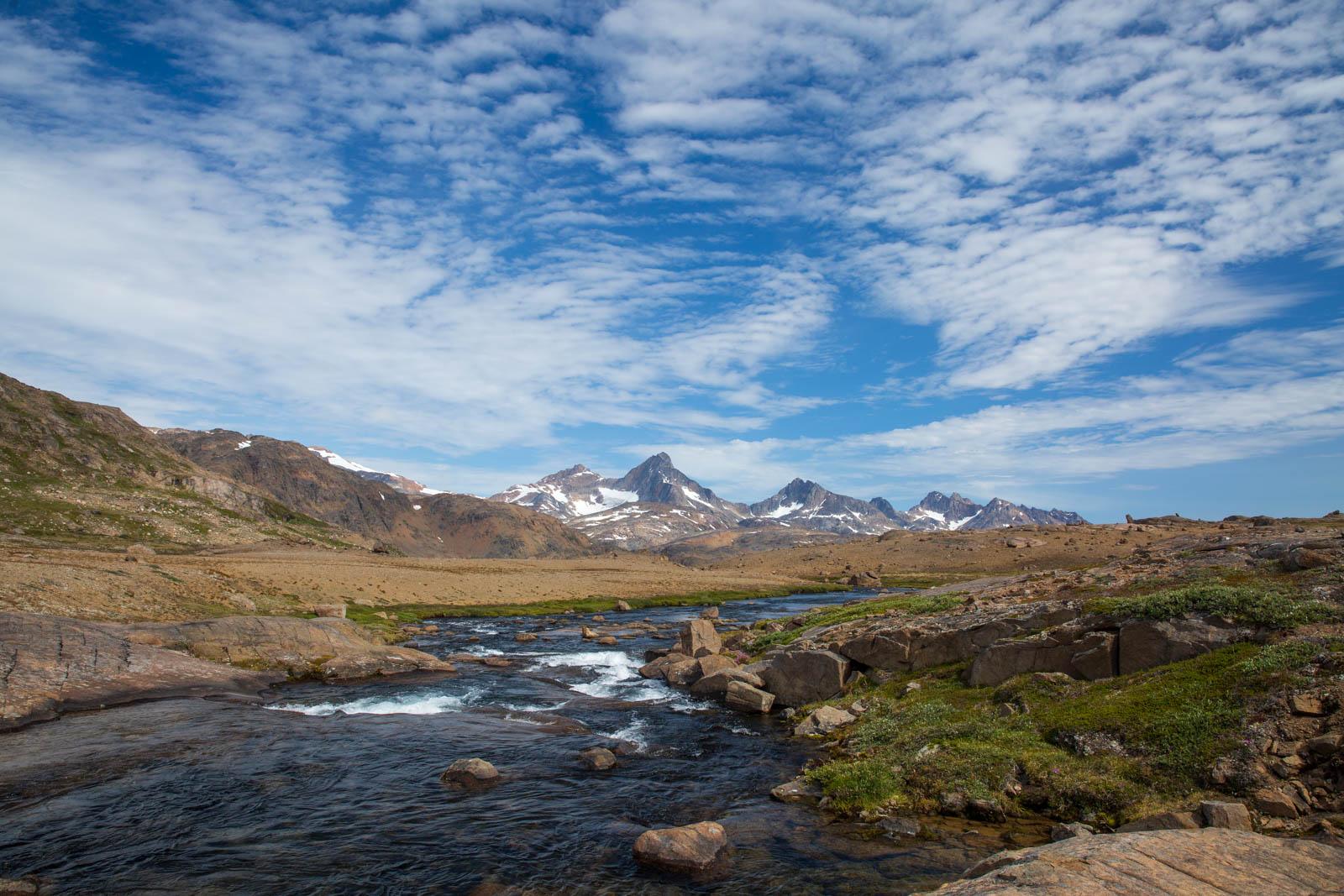 Bach, Ostgrönland, Grönland, Tasiilaq