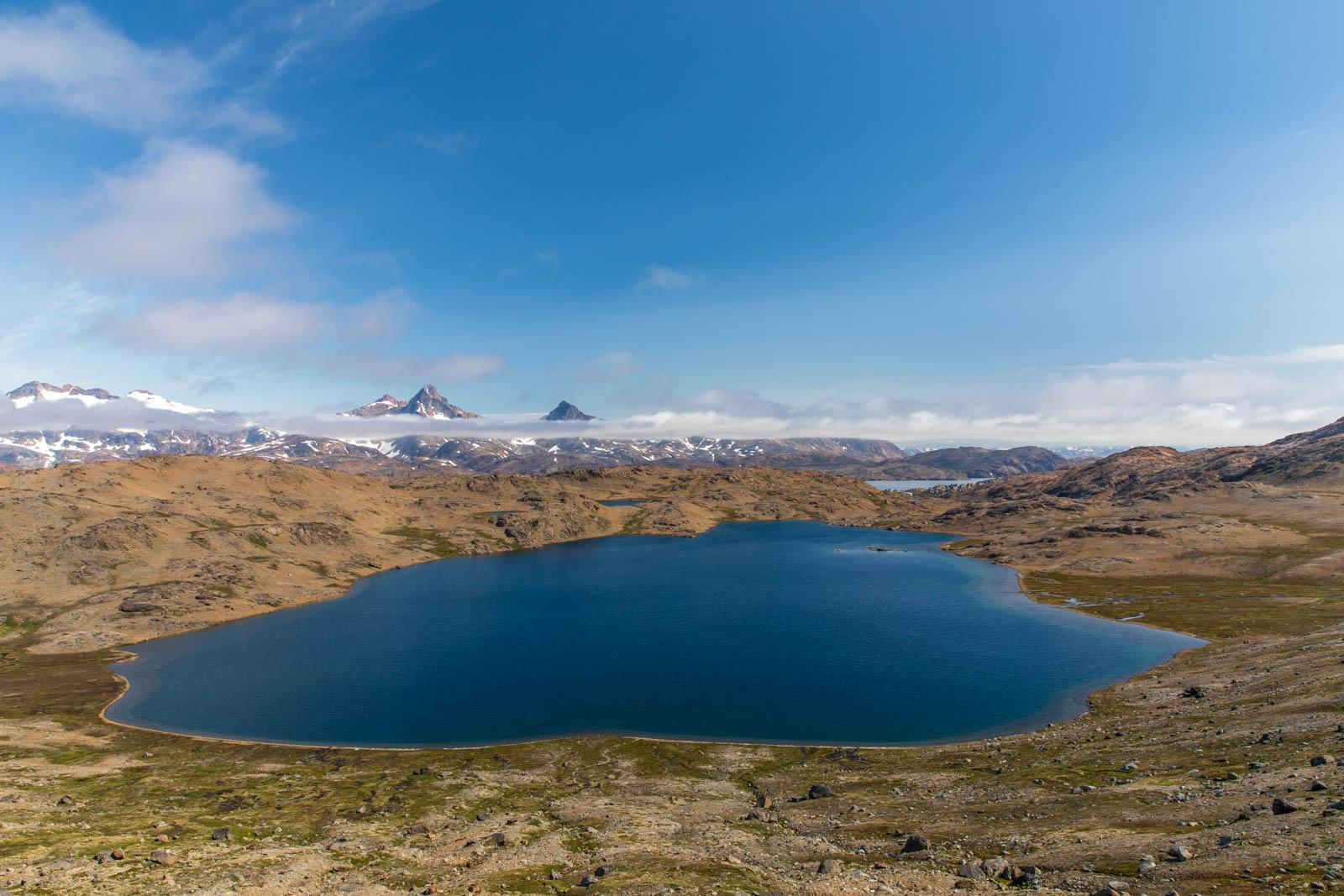Ostgrönland, Grönland, Tasiilaq, See