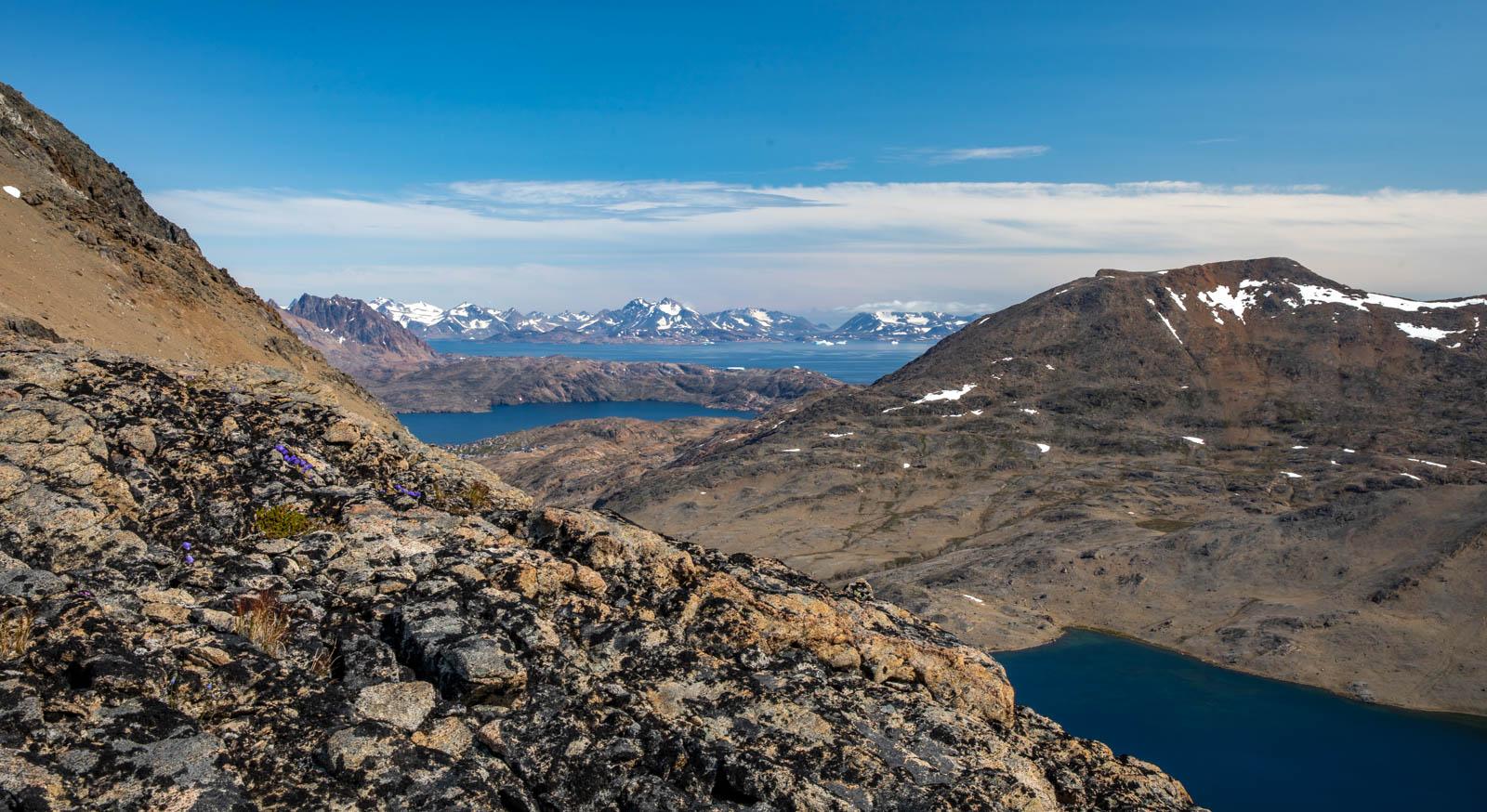 Ostgrönland, Grönland, Tasiilaq, Wandern