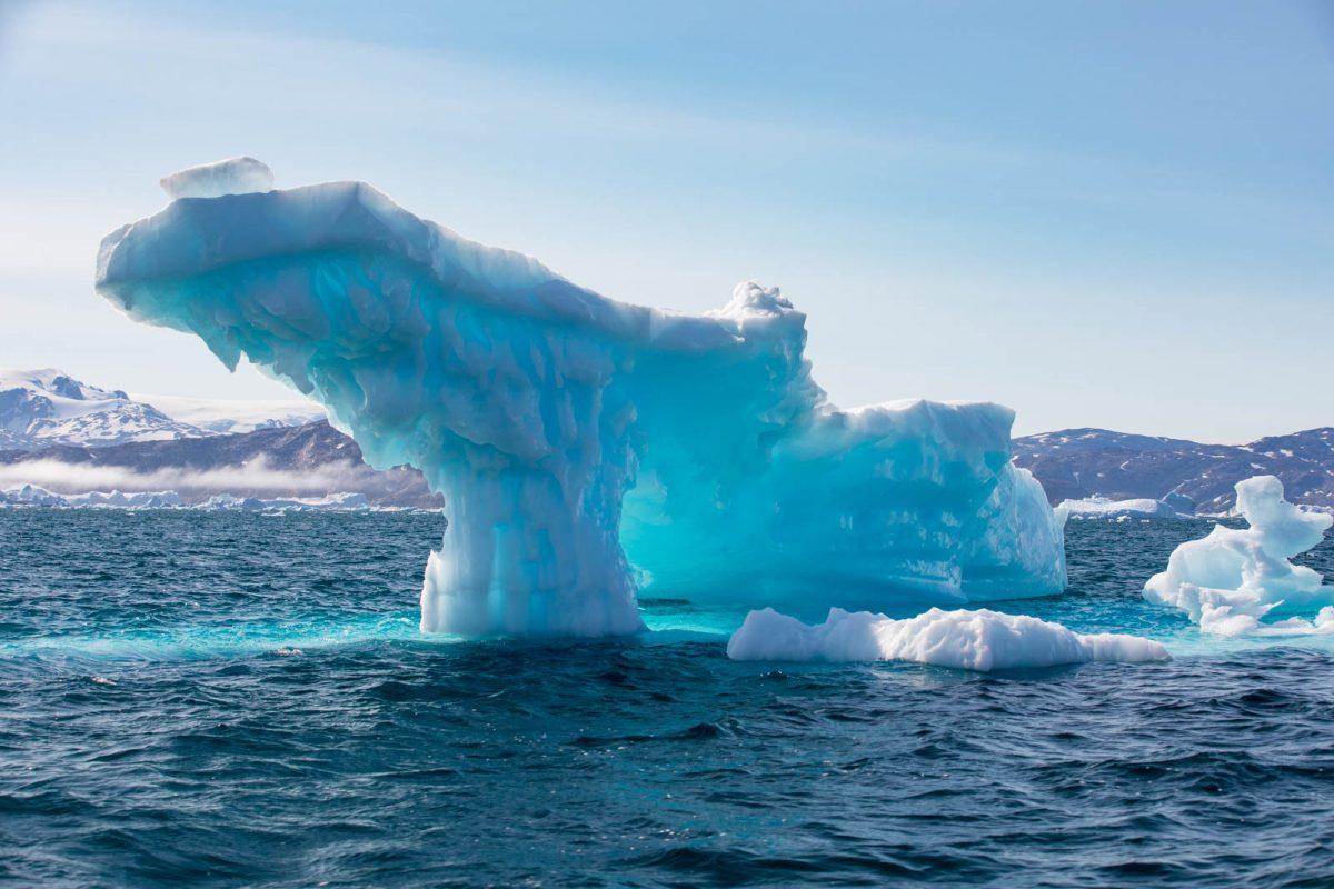 Ostgrönland, Eisberg, Sermilik Fjord