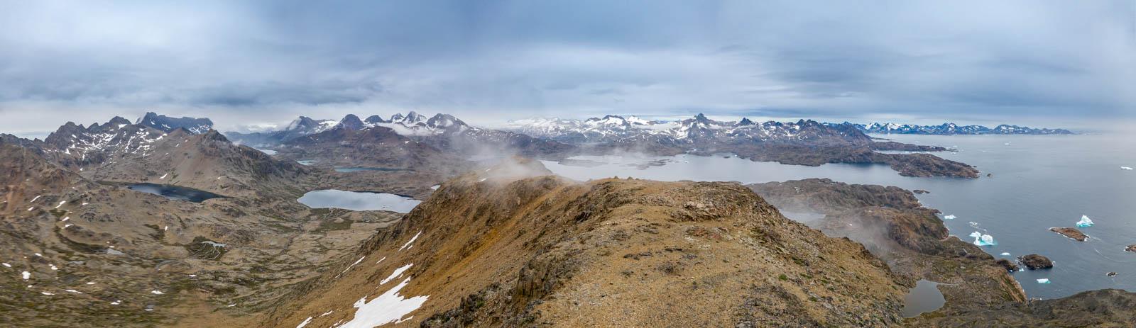 Ostgrönland, Grönland, Tasiilaq, See, Drohne, Mavic 2 Pro