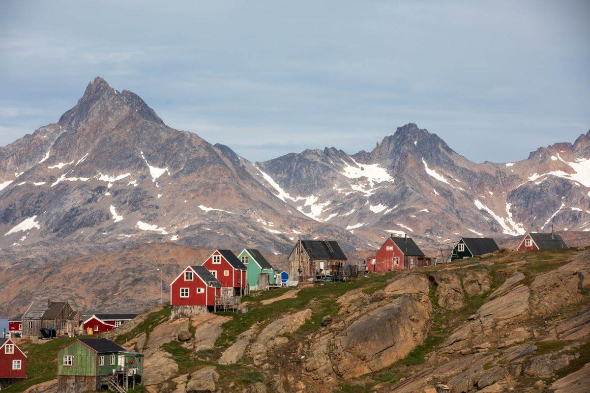 Ostgrönland, Grönland, Tasiilaq