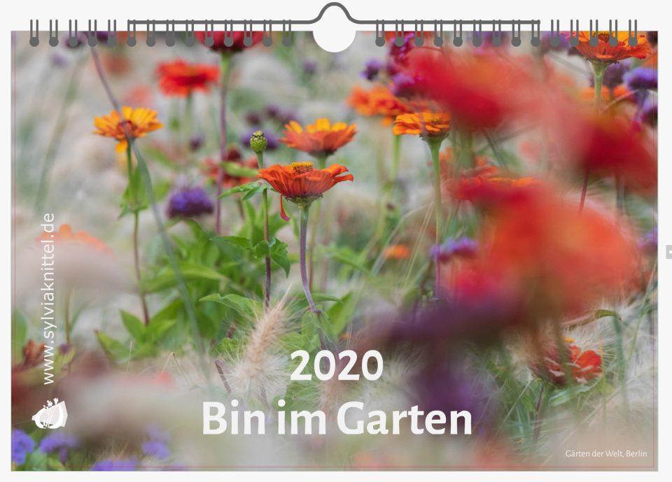 Foto Kalender 2020 Garten