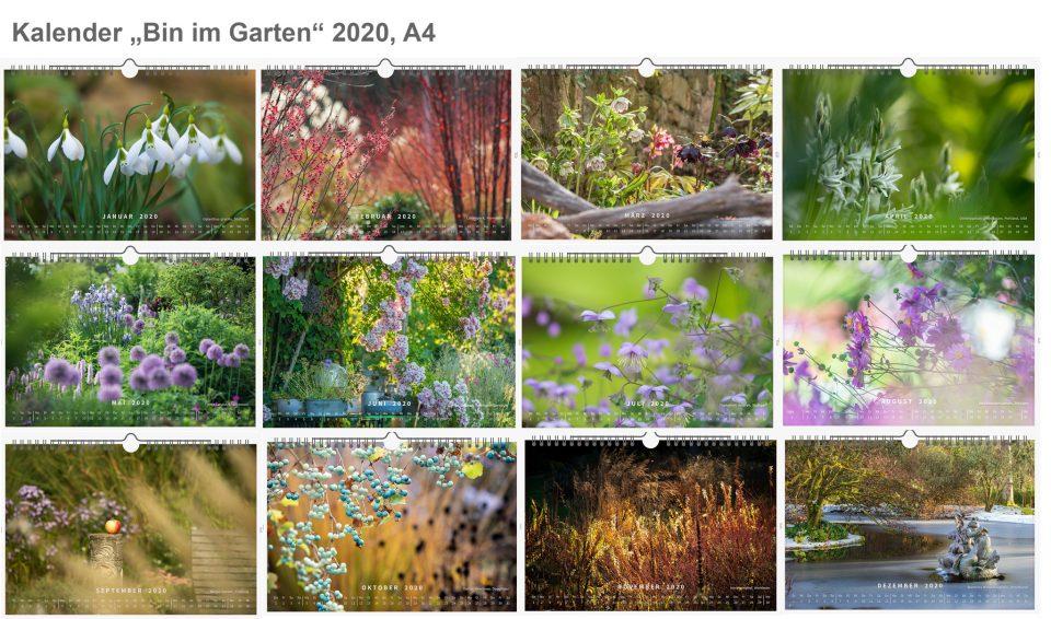 Foto-Kalender 2020 Garten