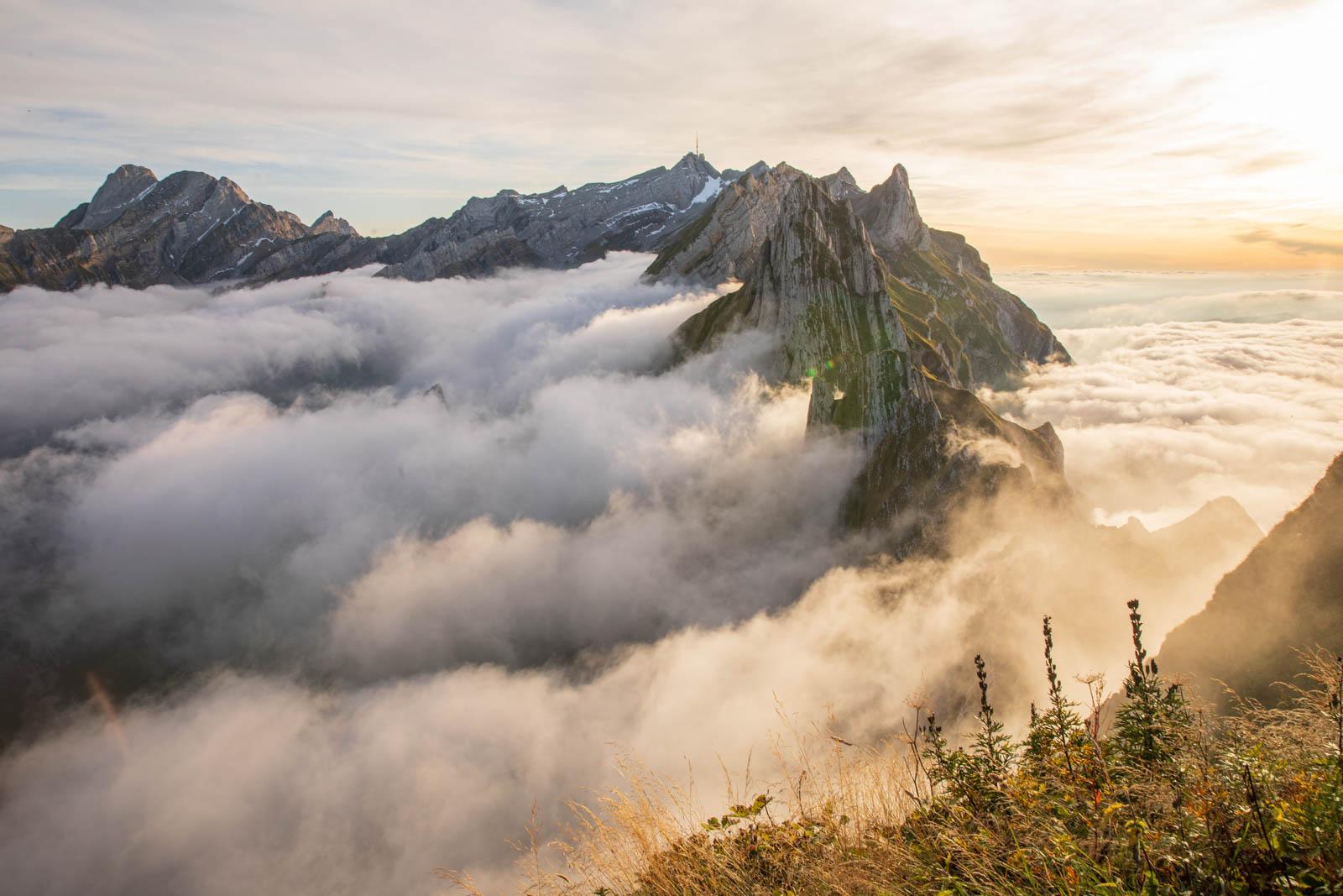 Photo: Der Nebel löst sich auf
