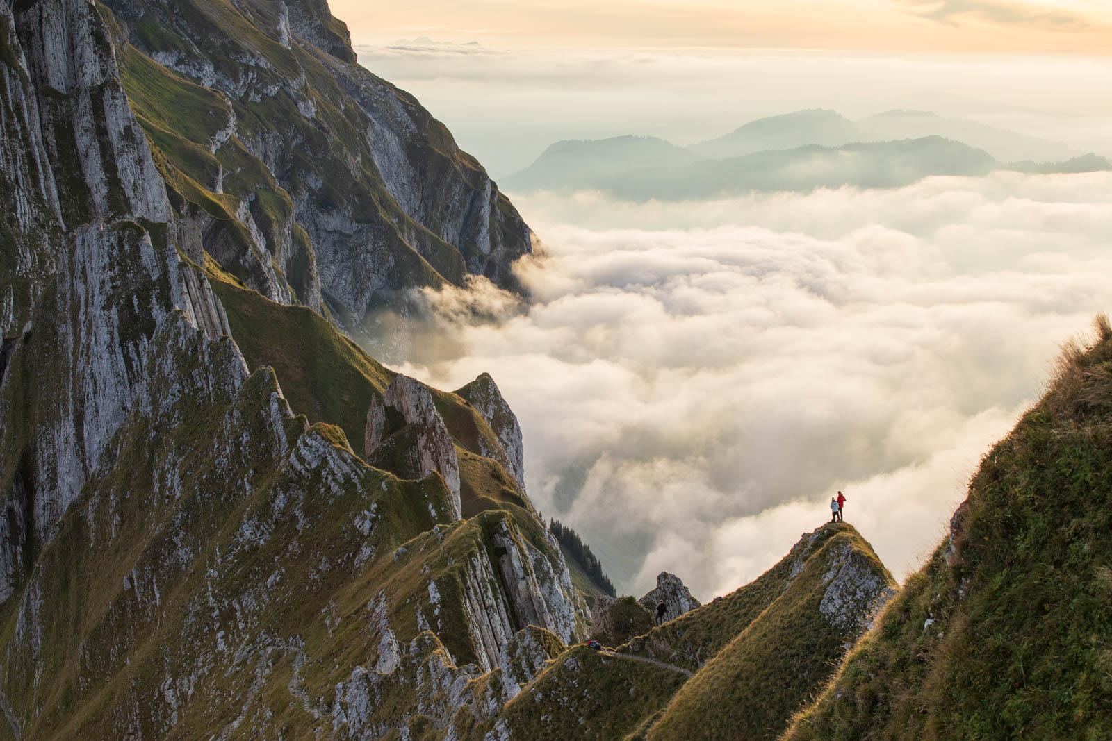 Photo: Über dem Nebel