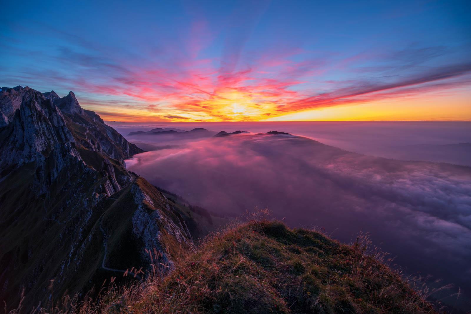 Photo: Fantastische Stimmung nach Sonnenuntergang