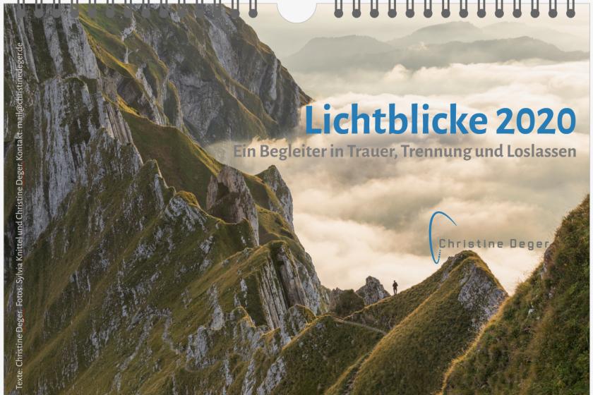 Kalender Lichtblicke Christine Deger