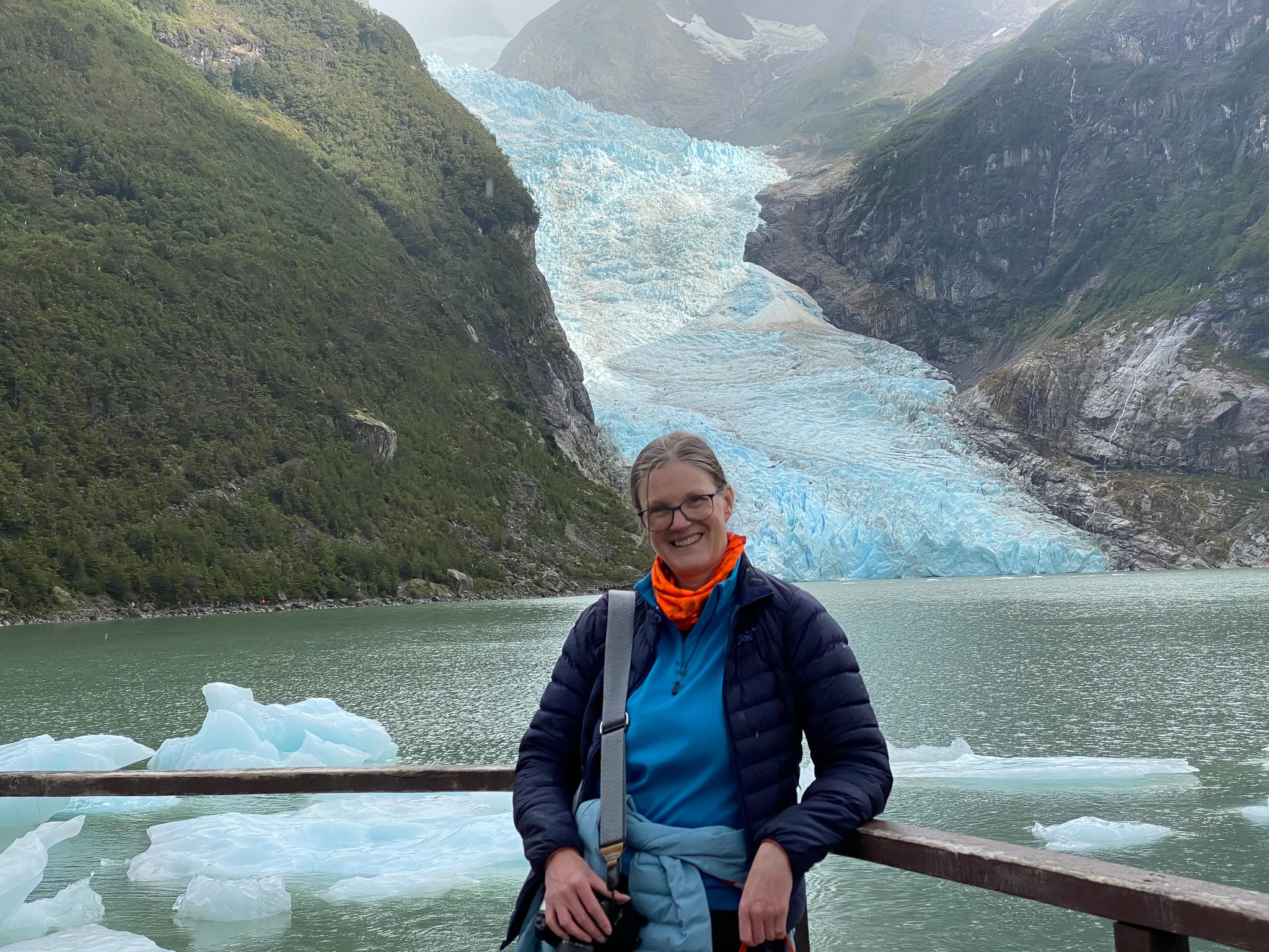 Photo: Vor dem Serrano Gletscher