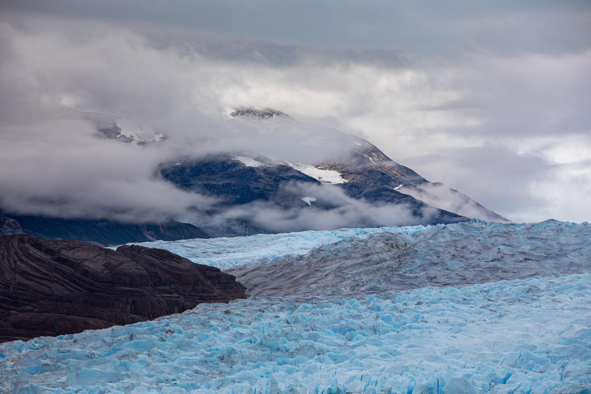Photo: Der breite Gletscherfluss