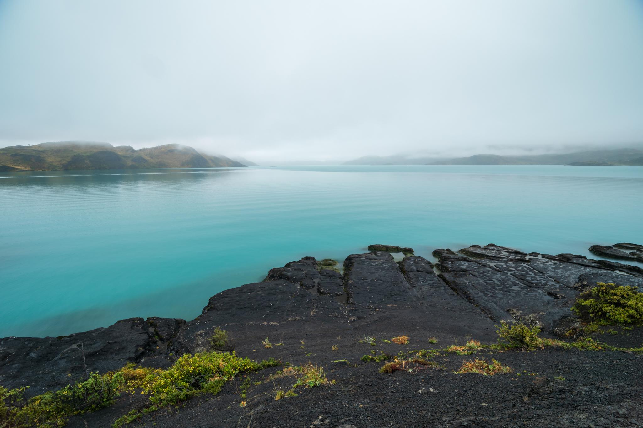 Photo: Der Nebel lichtet sich etwas